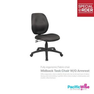 Midback Task Chair W/O Armrest
