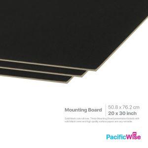 "Mounting Board/Papan Pemasangan/Card Stock Paper/20"" x 30"""