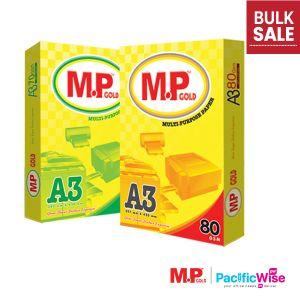 A3 Paper/MP Gold/A3 Kertas 80gsm/A3 Kertas 70gsm/Copier Paper(430'S/Ream)