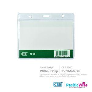 CBE/Name Badge PVC/Nama Lencana PVC/Name Badge (2560)