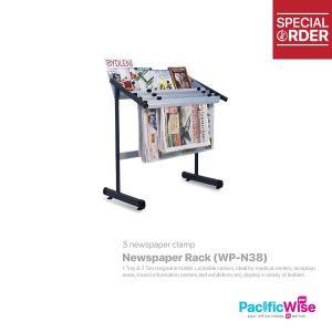 Newspaper Rack Included 3 Newspaper Clamp (WP-N38)