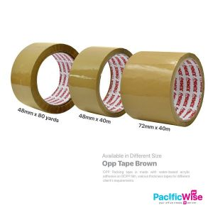 Opp Tape (Brown)