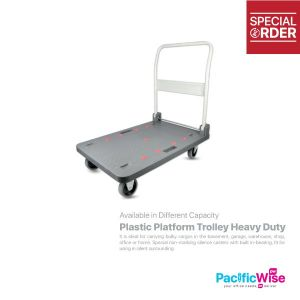 Plastic Platform Trolley Heavy Duty