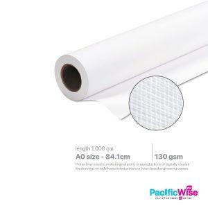 Plotter Paper/Kertas Plotter/Paper Roll/A0 Size (Linen Texture)