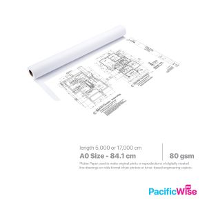 Plotter Paper A0 Size (841mm)