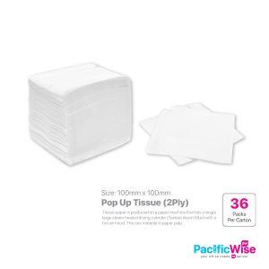 POP UP Tissue Size: 100mmx100mm (2ply)
