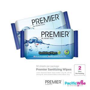 Premier Sanitizing Wipes (2 Packet x 50 Sheet)