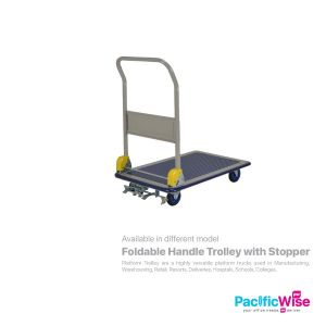 Prestar Foldable Handle Trolley with Stopper