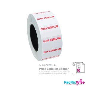 Price Labeller Sticker (GUNA SEBELUM) (10 rolls)