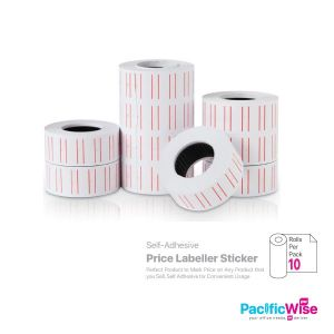 Price Labeller Sticker (Double Line)