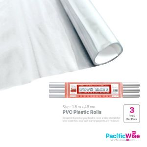 PVC Plastic Roll Clear (1.5) (3rolls)