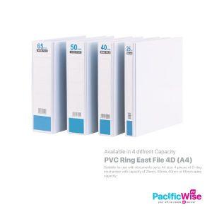 East File 4D Ring File PVC