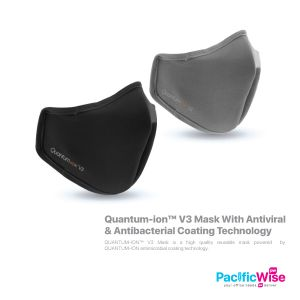 Quantum-ion™ V3 Mask With Antiviral & Antibacterial Coating Technology