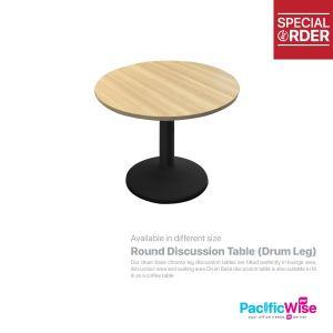 Round Discussion Table (Drum Leg) - DL-900
