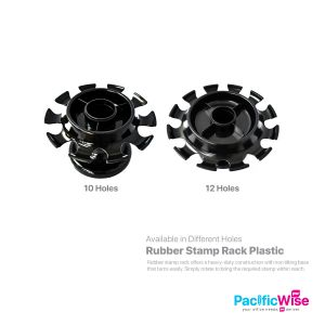 Rubber Stamp Rack Plastic