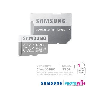 Samsung Class 10 Pro (Micro SD Card)/Memory Card/Kad memori