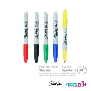 Sharpie/Permanent Marker/Penanda Kekal/Writing Pen/Fine Point/0.9mm