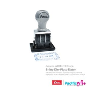 Shiny Die-Plate Dater with Word Stamp