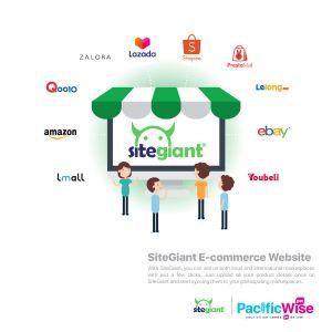 SiteGiant E-commerce Website