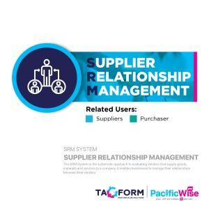 Tagform Supplier Relationship Management - SRM System