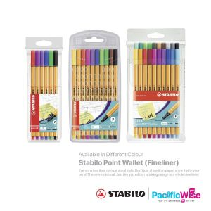 Stabilo Point Wallet (Fineliner)