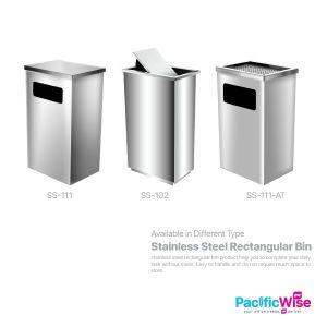 Stainless Steel Rectangular Bin