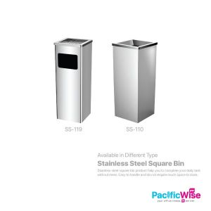 Stainless Steel Square Bin