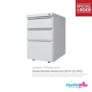 Steel Mobile Pedestal 2D1F