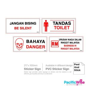 Sticker Sign Board