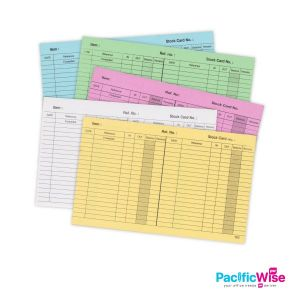 "Stock Card/Kad Stok/Card Stock Paper/8"" x 5"" (30'S/pack)"