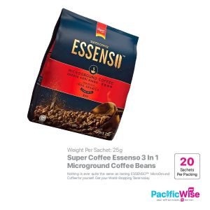 Super Coffee Essenso 3 In 1 Microground Coffee Beans (25g x 20sachet)