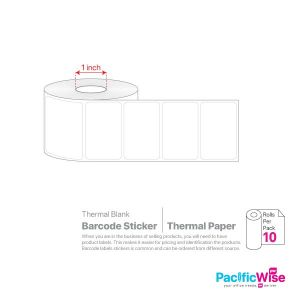 Blank Barcode Sticker Thermal Paper (10rolls)