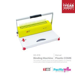 TIMI Binding Machine GD-818 (Plastic Comb)