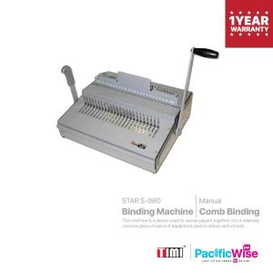 TIMI Binding Machine STAR S-980 (Comb Binding)