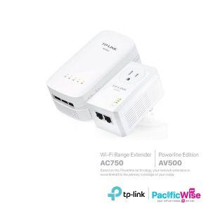 TP-Link Wi-Fi Range Extender (AC750) & Powerline Edition (AV500)