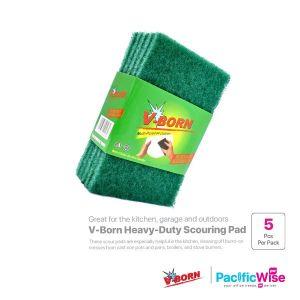 V-Born Heavy Duty Scouring Pad (1 x 5pcs)