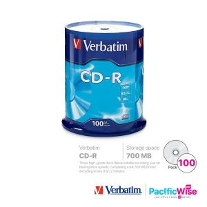 Verbatim CD-R 700MB (100'S/Spindle)