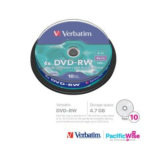 Verbatim DVD-RW 4.7GB (10'S/Spindle)