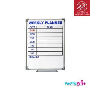 Whiteboard/Weekly Planner/CWP51/Perancang Mingguan (1.5' x 2')