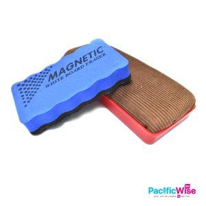 Whiteboard Duster/with Magnetic/Non Magnetic/Lapisan Papan Tulis/Dengan Magnetik/Tidak Magnetik/Board Accessories