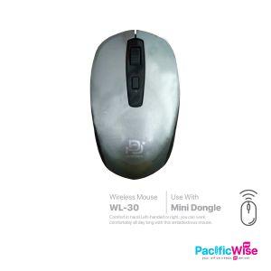 2.4G Wireless Optical Mouse/Tetikus/WL-30/Computer Accessories