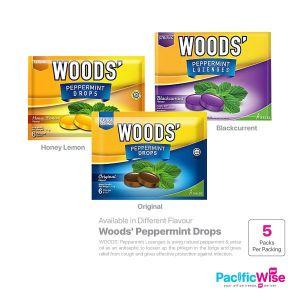 WOODS' Peppermint Drops (5packs)