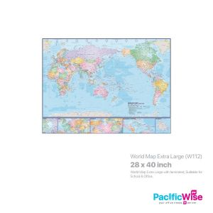 World Map Extra Large (W112)