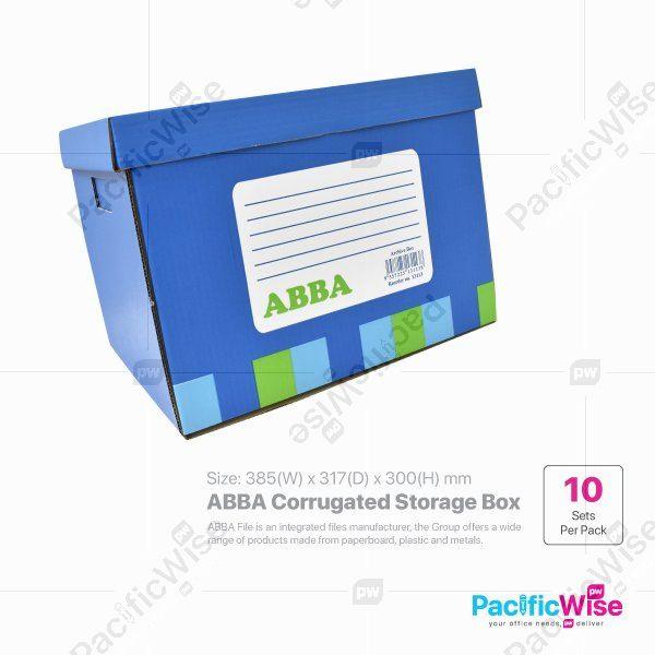 ABBA Corrugated Storage Box (10 sets)
