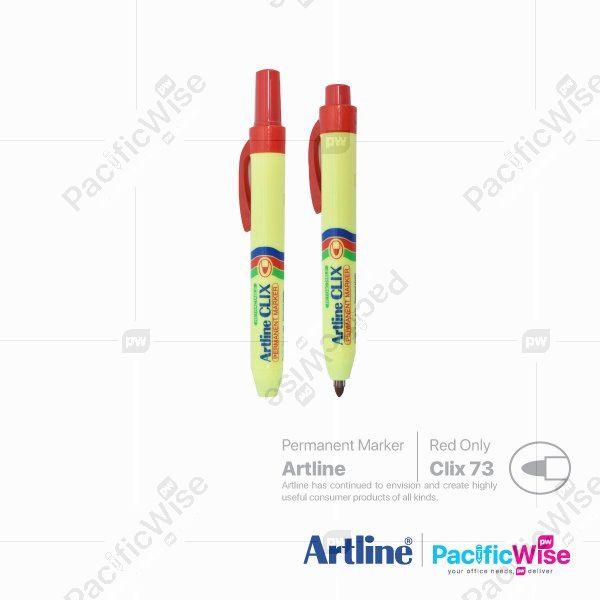 Artline Permanent Marker Clix73
