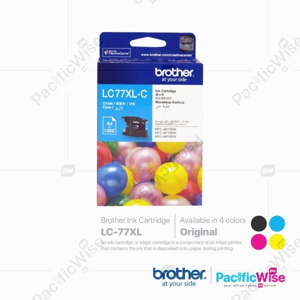 Brother Ink Cartridge LC-77XL (Original)