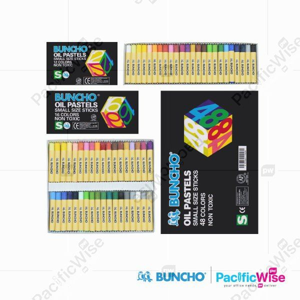 Buncho Oil Pastel Small Sticks