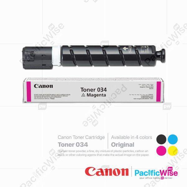 Canon Toner Cartridge 034 (Original)
