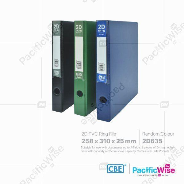 CBE 2D Ring File PVC 2D635