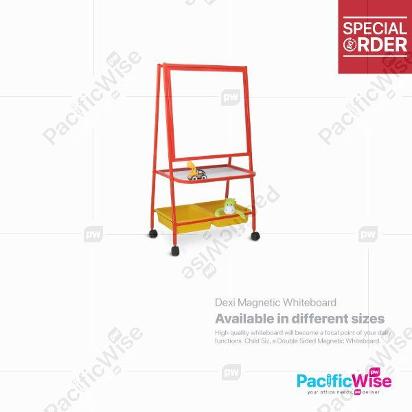 Dexi Magnetic Whiteboard With Basket